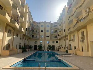 Furnished STUDIO Apartment with balcony & Pool View in Hurgh