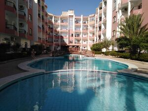 Furnished STUDIO Apartment with balcony- Pool View in Hurgha