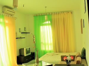 Furnished Apartment with balcony-Side view, Hurghada-Al Kawt