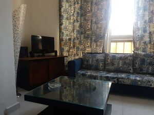 """Furnished STUDIO Apartment with balcony in """"Deser Perl Compl"""