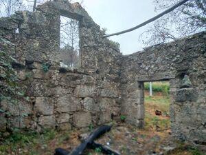 Stone ruin, 1ha land, orchard, woodland, stream, spring +!!