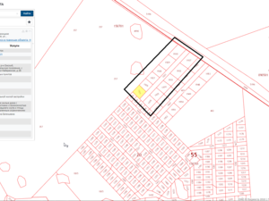 Plot of land for individual home construction