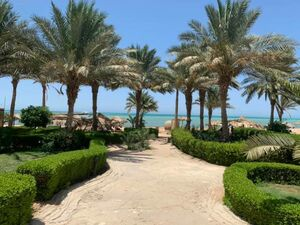 2 bedroom apartment in a picturesque compound on the Red Sea