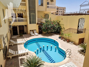 Ready apartment for sale in a building with pool