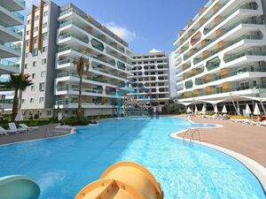 STUDIO APARTMENT ON A COMPOUND IN ALANYA