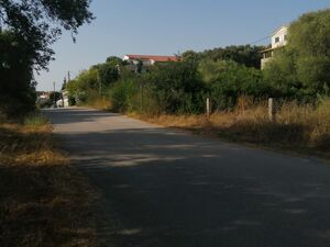 402 m2 Seafront Land Ready for Construction in Koronisia