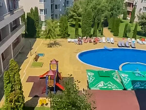 VIDEO! Pool View 1 Bed apartment Nessebar Fort Club