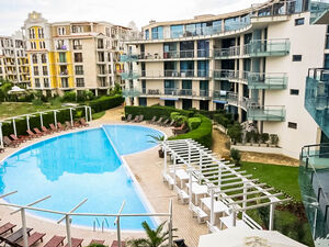 2-bedroom apartment with Pool view in Blue Pearl Sunny Beach