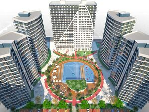 Turn key apartment for sale in a newly built complex. The fu