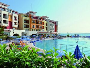 Sea front studio apartment in Marina Cape (Aheloy)
