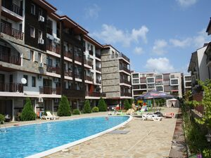 Studio with mountain views in Panorama Bay, St. Vlas