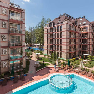 Furnished 1-bedroom apartment in the 4 star, Sunny Beach