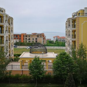 Sea view studio apartment in St. Vlas, 80 m to the beach