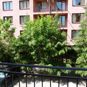 Furnished 1-bedroom apartment in Rose Village, Sunny Beach