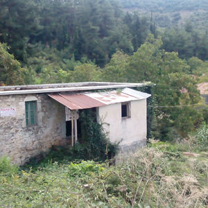 Land 583 sqm. with traditional Stone building Greece