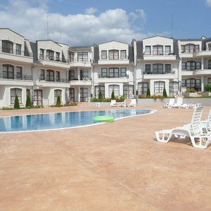 Apartment with 3 bedrooms, SEA and Pool views in Sunny Beach
