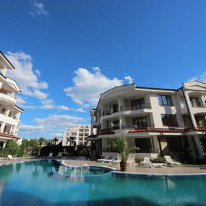 Pool View Furnished Studio in Shateu Valon, Sunny Beach