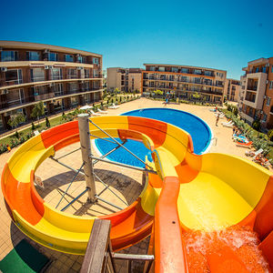 Pool view 1-bedroom apartment in Holiday Fort Golf Club