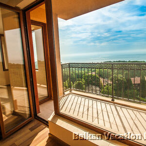 One Bed Room Sea View Apartment in Golden Sands