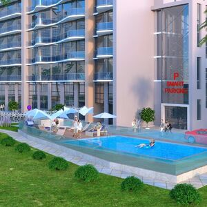 2-room renovated apartment 44.8 m² in Batumi by the sea