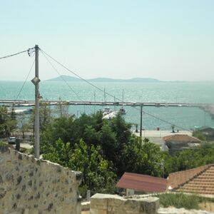 202m2 Seaview Land Ready for Construction in Koronisia