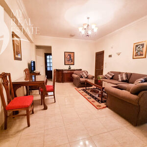 Furnished apartment on a villa in Magawish