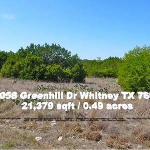 Peaceful, quiet, magnificent Lakeside Living in Whitney, TX